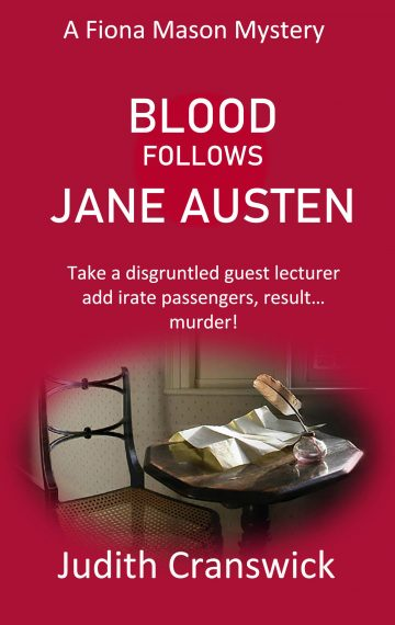 Blood Follows Jane Austen – A Fiona Mason Mystery – Book 7